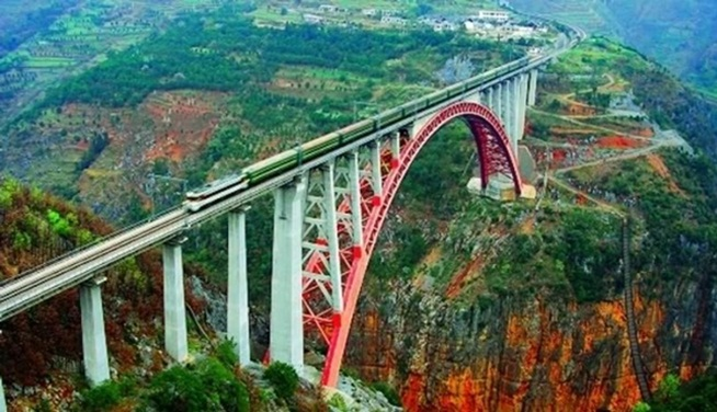 world's tallest bridge in India, chenab railway bridge, India tourist attractions