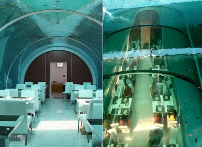 India's First Underwater Restaurant in Ahmedabad Serves Food 20 Feet below Ground Level