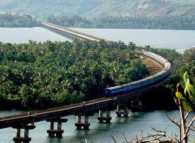 India to Build Rail Bridge in Madhya Pradesh Longer than Longest Rail Bridge in Kerala