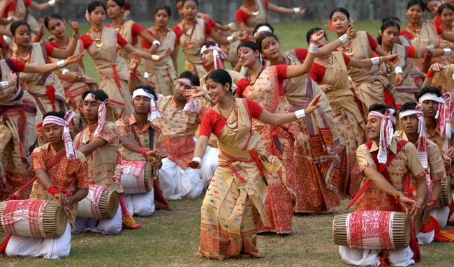 Bohag Bihu in Assam, Assamese new year, Northeast Indian festivals, Prince William and Kate Middleton