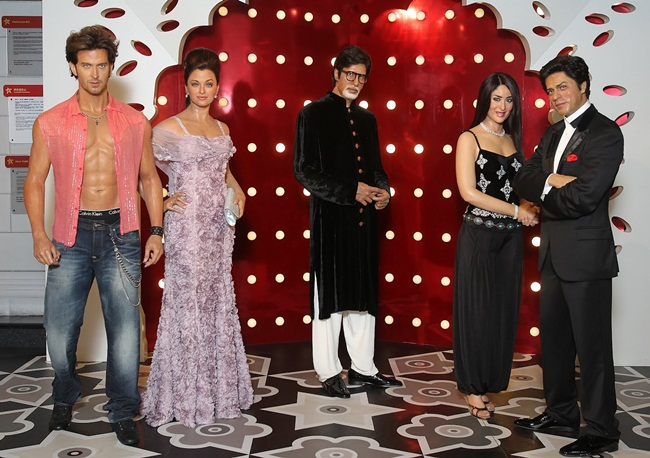 Bollywood Travels to Madame Tussauds for Exhibition in Washington DC
