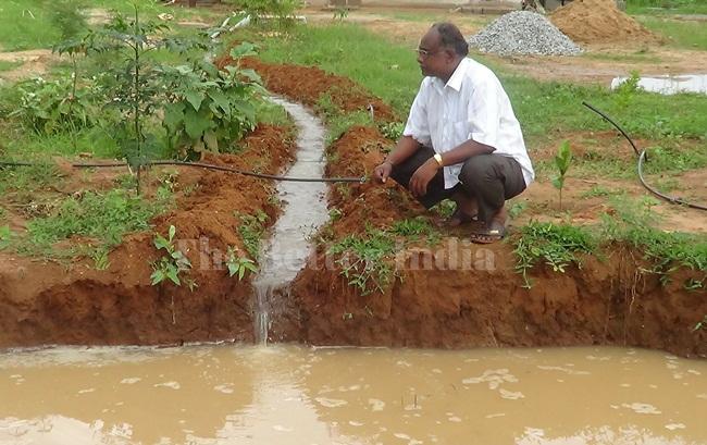 Water Gandhi, Water doctor, Ayyappa Masagi Karnataka, water conservation ways, IndianEagle