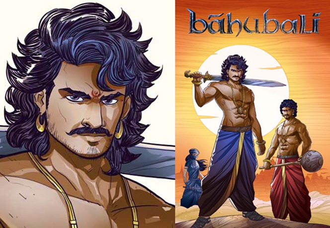 Baahubali movie, story of Baahubali, SS Rajamouli, Baahubali in graphics & comics, Indian comic books