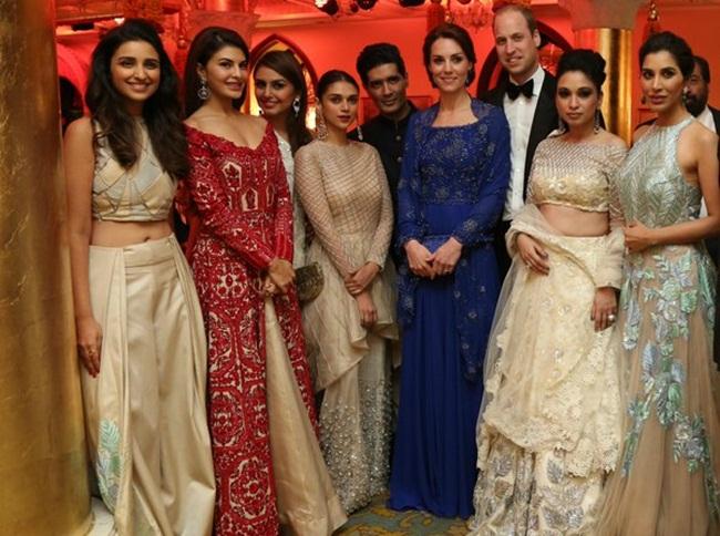 Prince William, Kate Middleton, RoyalvisitIndia, Taj Mahal Palace Hotel, Royal couple in India, Indian food culture, Bollywood actors