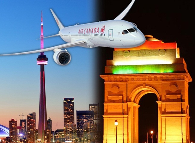 Air Canada, cheap new delhi flights, air travel news, Canada to India flights