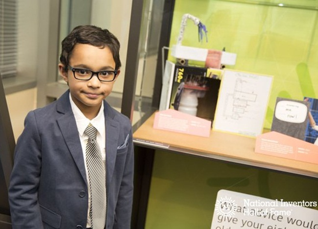 IndianAmerican boy Oyon Ganguli, Mighty Minds contest, American youth inventors competition, NRI news