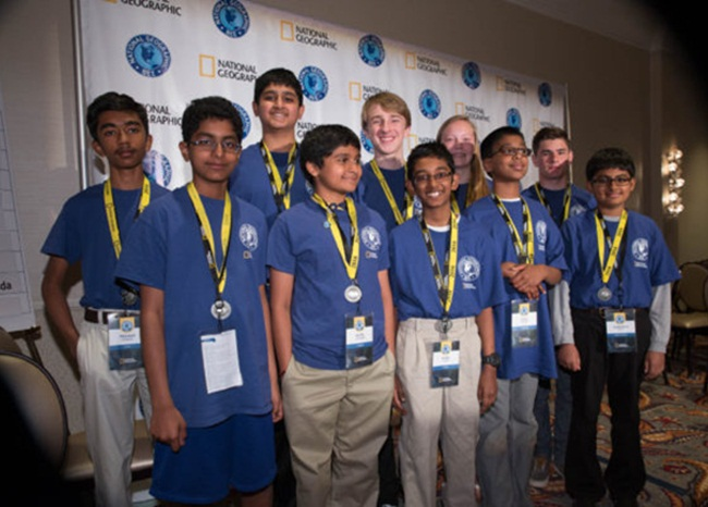 7 Indian American Students among Champions of 2016 National Geographic Bee