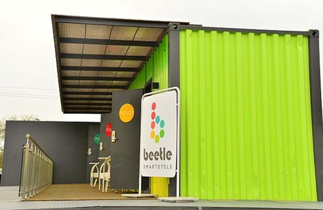 Beetle Smartotels, portable hotels, Ahmedabad, Gujarat, Indian hospitality