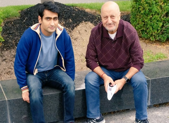 Anupam Kher in Hollywood, The Big Sick cast, actor Kumail Nanjiani, Holly Hunter