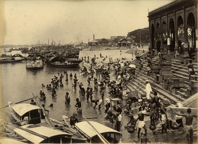 Kolkata photographs, old Calcutta, Bourne & Shepherd studio