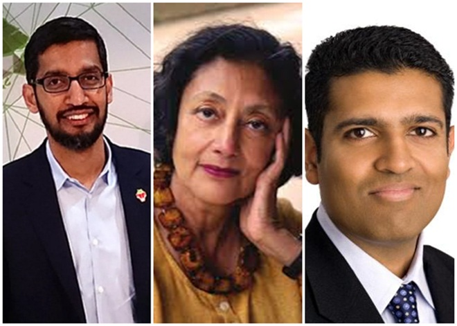 2016 Great Immigrants, Pride of America Award, Sundar Pichai, author Bharati Mukherjee, PBS Newshour anchor Hari Sreenivasan, McKinsey Vik Malhotra, NRI news