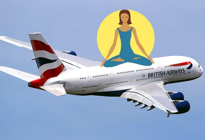 British Airways Offers Inflight Meditation Classes on Long-haul Routes