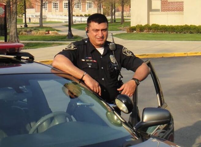 This Indian American Muslim Cop is Chief of Security at Indianapolis Hindu Temple in USA