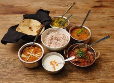 All about Google's Indian Restaurant Baadal for Employees in Silicon Valley: from Interior to Menu