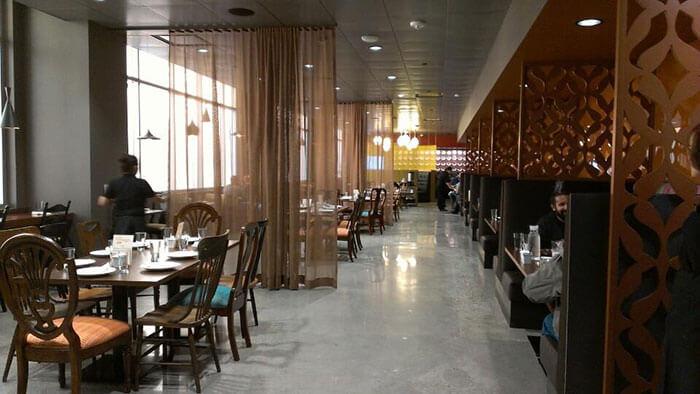restaurants at Google headquarters, Cafe Baadal at Googleplex, Indian food in San Francisco