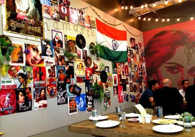Google Baadal restaurant, Indian restaurants in Silicon Valley, Indian food in California