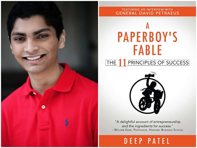 writer Deep Patel, A Paperboy's Fable book, young Indian Americans, NRI news, Indians in Georgia