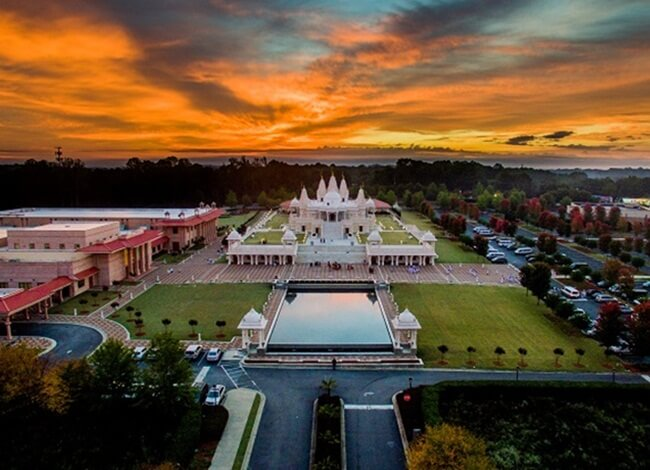 BAPS Shri Swaminarayan Mandir, Hindu temples in USA, Atlanta Indian events, Indians in Georgia