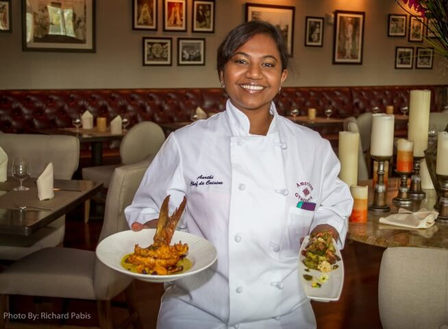Indian American Chef Aarthi Sampath Wins US-based Food Network's Cooking Show 'Chopped'