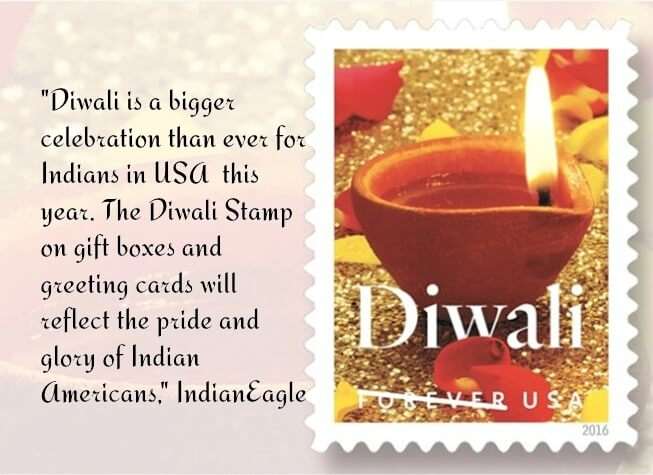 15-year Movement by Indian Americans Culminates in Official Release of Diwali Stamp in USA