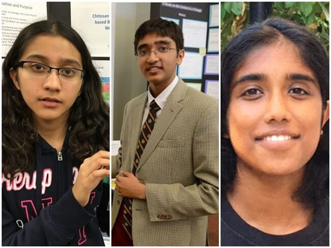 4 Indian American Teens in 2016 Google Science Fair Finals for Their Inventions to Change the World
