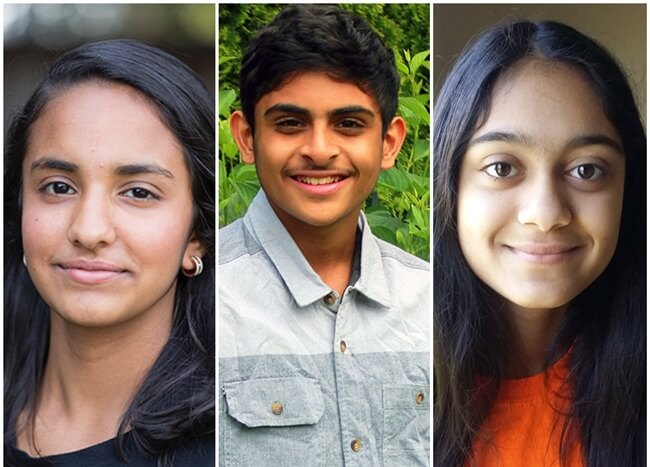 Young Scientist Challenge 2016, Young Indians, Indian American students, America's young scientists, innovation