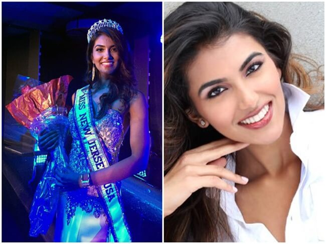 19-year-old Indian American Chhavi Verg Wins the Crown of Miss New Jersey USA 2017
