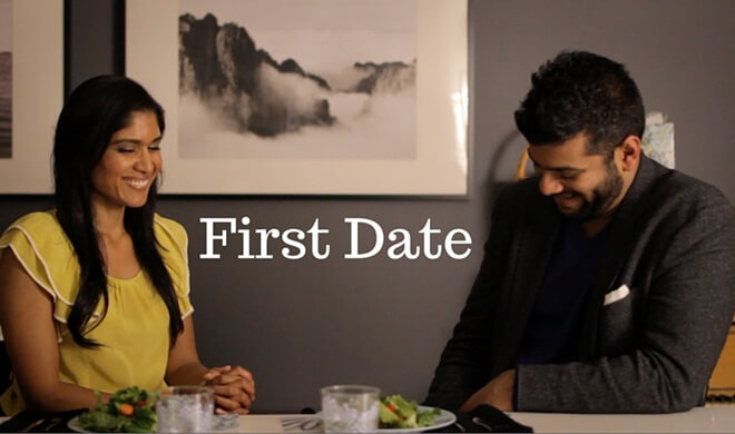 First Date short film, Anisha Adusumilli, Indian American actors, Los Angeles Indians