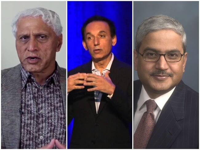 Five Richest Indian Americans on Forbes Magazine's 2016 List of American Billionaires