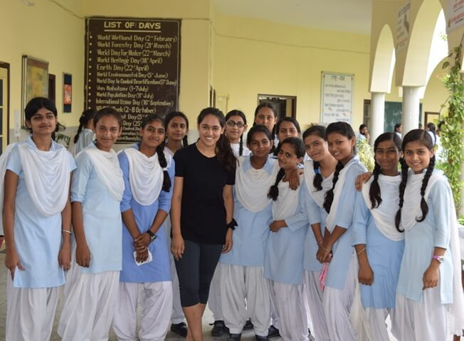 19-year-old Indian American Pooja Nagpal Teaches Poor Girls Martial Arts for Self Defense in India