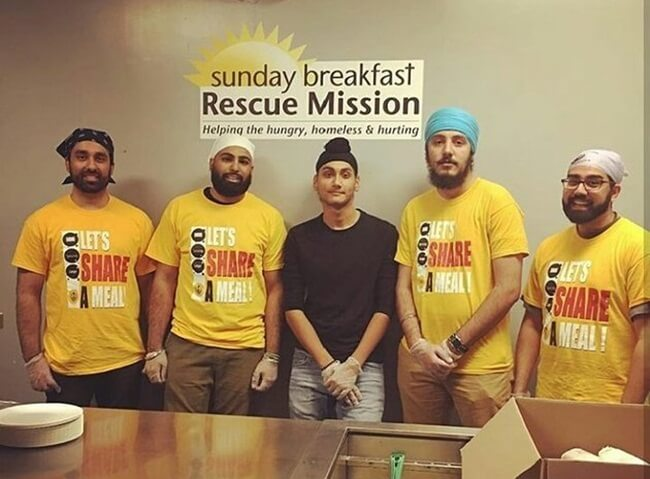 New Jersey Sikhs Serve Free Meals in 80 Locations under Let's Share A Meal Initiative across USA