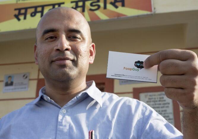 India's poop guy, Swapnil Chaturvedi, Samagra Sanitation, open defecation India