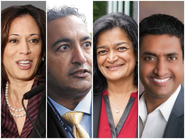 Five Indian American Faces of US Congress in New Political Regime of United States