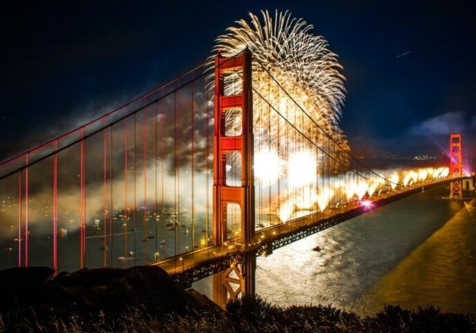 San Francisco New Years Eve Fireworks