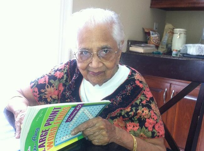 Oldest Atlanta Indian American Alamelu Amma had Tough Journey from Rangoon to India to USA