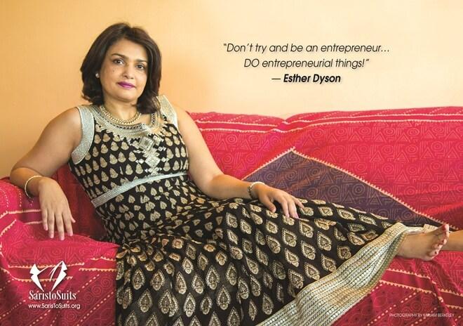 Roopa Unnikrishnan, Chennai NRIs, New York Indians, Saris to Suits Calendar