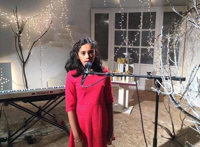 Sacramento-based 10-year-old Indian American Tiara Abraham Releases Her First Music Album