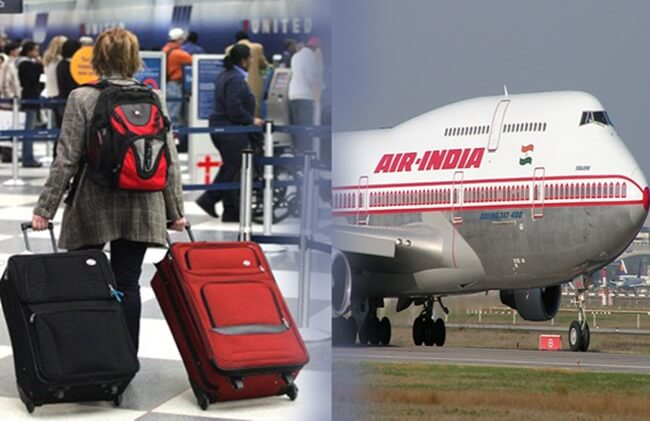 What's Baggage Allowance on Air India Flights to New Delhi from Washington DC in Economy?