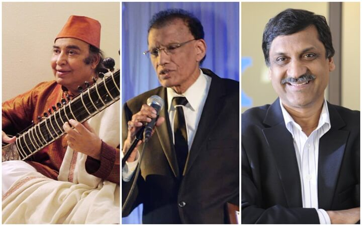 Padma Shri Awardees of 2017 Include 3 Indian Americans in Music, Education, Journalism