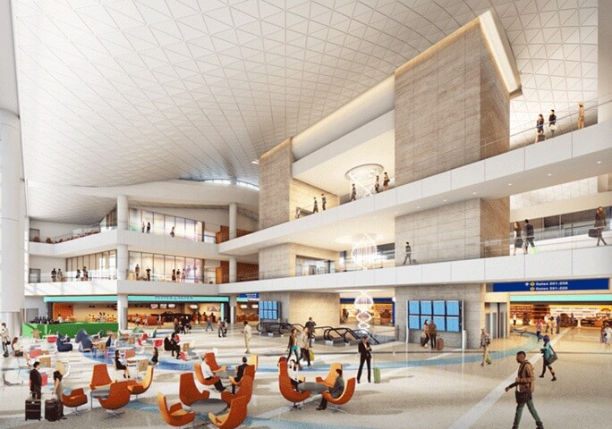 Los Angeles International Airport to Redefine Luxury and Comfort with 750K-Square-Foot Concourse
