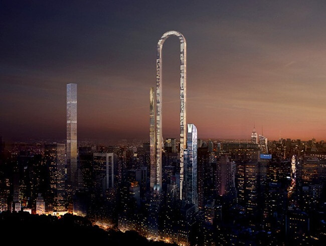 This U-shaped Skyscraper in New York to Make USA home to World's Longest Building