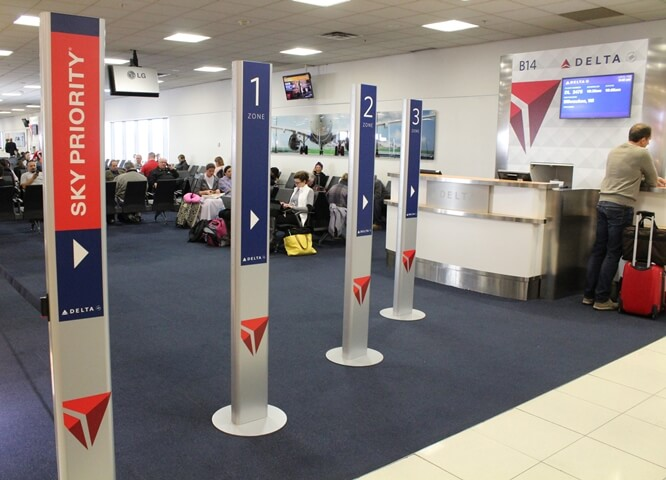 Delta Airlines' Baggage Tracking and Boarding Process at Atlanta Airport are More Convenient than before