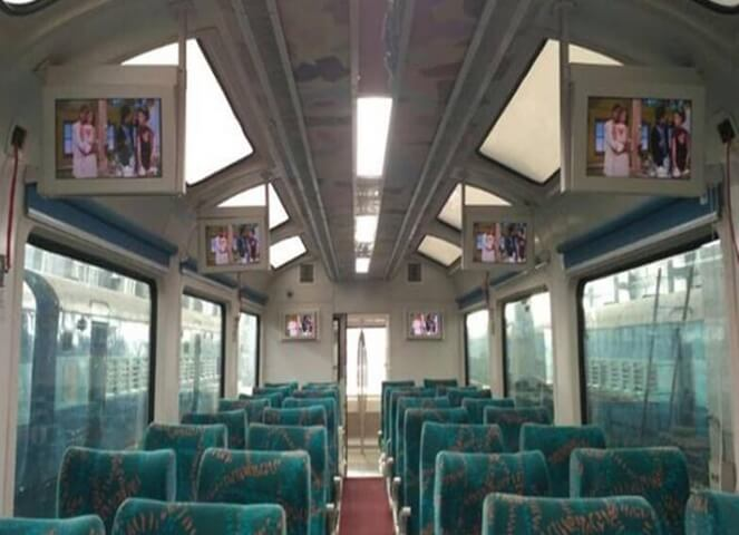 Andhra Pradesh Gets India's First Vistadome Train Coaches with Glass Ceiling, Rotating Chairs, Luxury Lounges