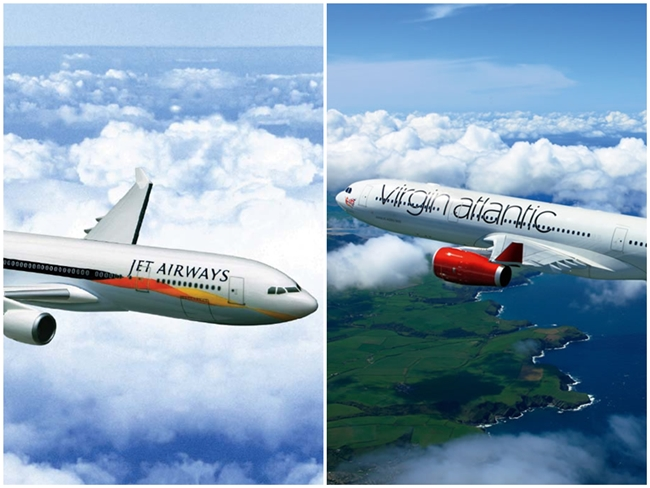 Jet Airways Partners Virgin Atlantic to Offer More US-India Flights via London Heathrow