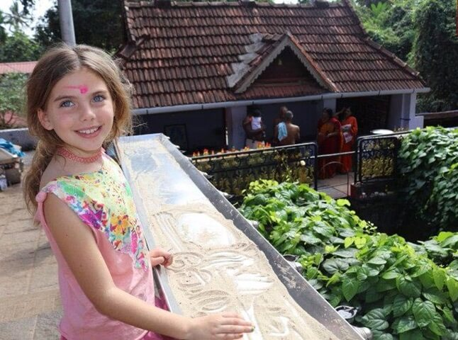 This 8-year-old American Girl is Named Kerala after Her Parents' First Visit to India in 2004