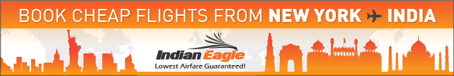 Indian eagle travel, cheap flights to India, New York flights to India