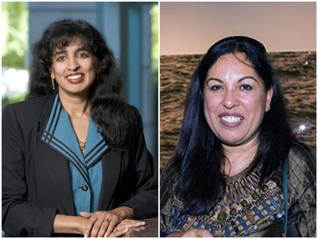 Jayshree Ullal Arista Networks, Neerja Sethi Syntel, Indian American women, Forbes 2017 lists, self-made NRIs