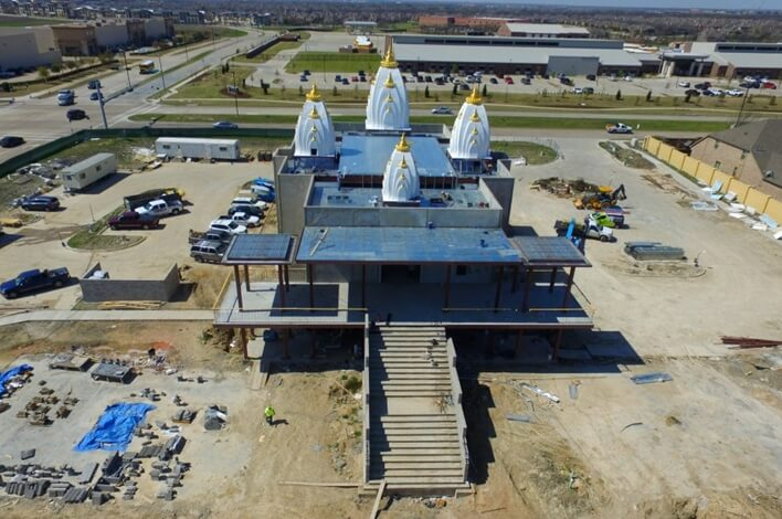 Interesting Facts about Grand Opening of New Radha Krishna Temple in Dallas, Texas