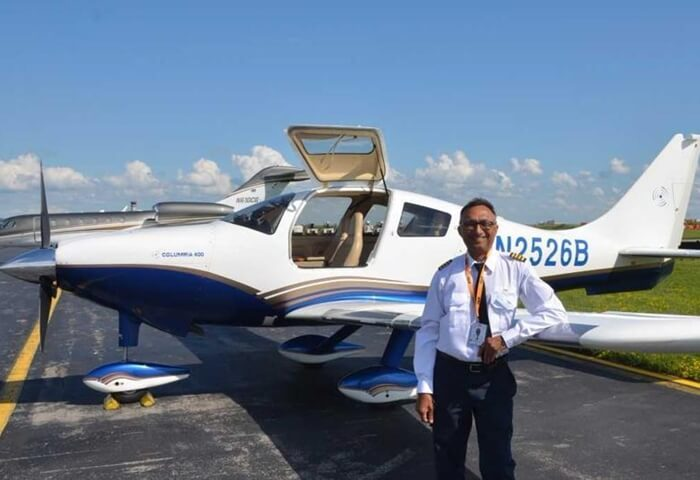 68-year-old Indian American to Fly Solo across World to Raise Fund for Cancer Hospital in India