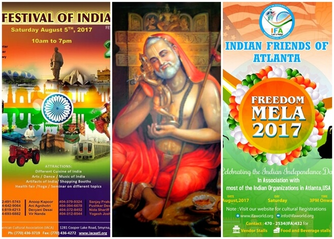 Atlanta Georgia events, Atlanta Indian events 2017, Festival of India Atlanta 2017